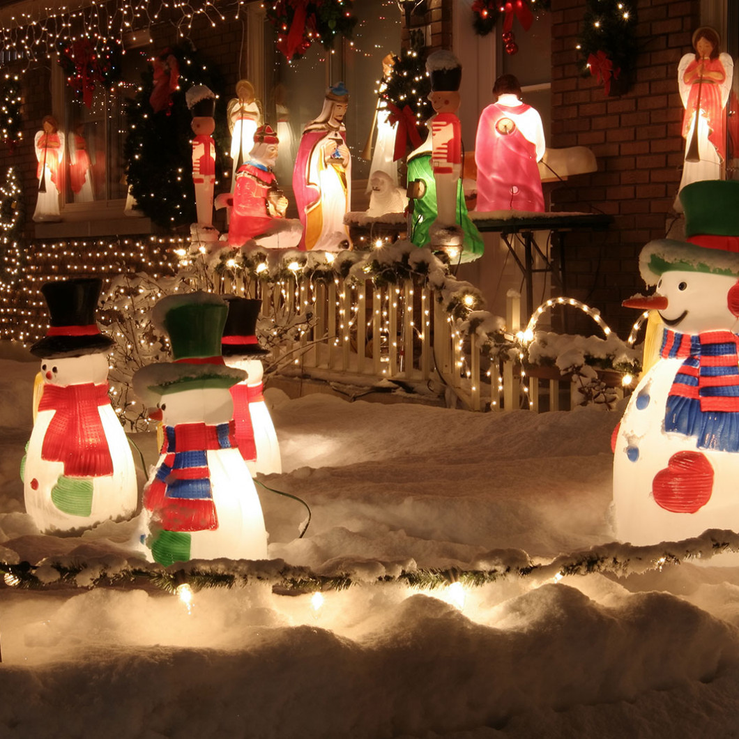 3 ways to turn your property into a winter wonderland